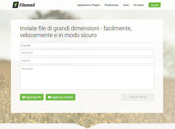 Filemail - Homepage