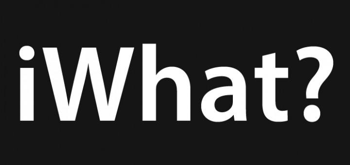 Mi sono divertito a stravolgere il logo dell'iHone...