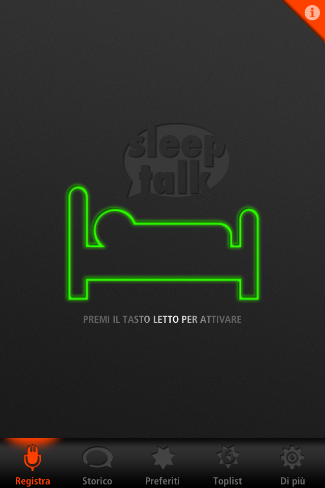 Sleep Talk Recorder - Home