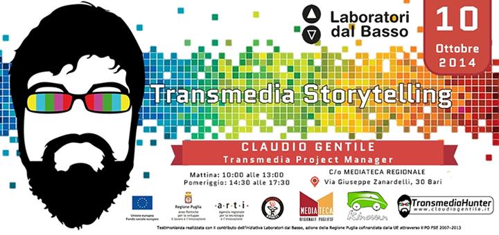 Transmedia Storytelling 5 domande per Claudio Gentile