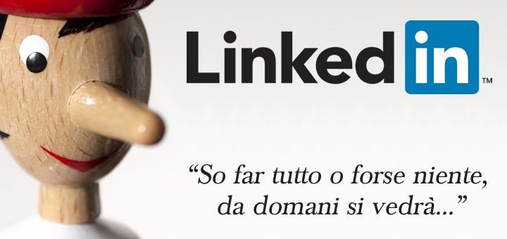 Le competenze su LinkedIn: affidabili come Pinocchio