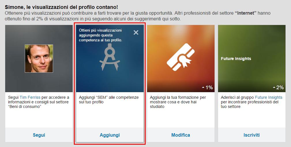 LinkedIn - Chi ha visitato il tuo profilo?
