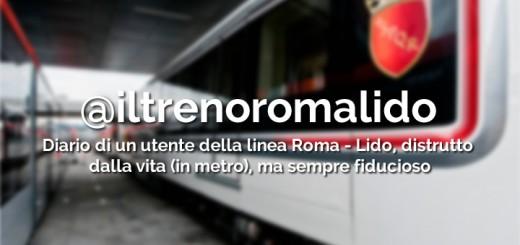 Blog, social e metro di Roma: 5 domande per @iltrenoromalido