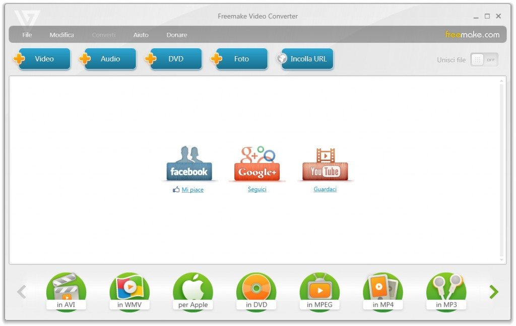 Freemake Video Converter - Home