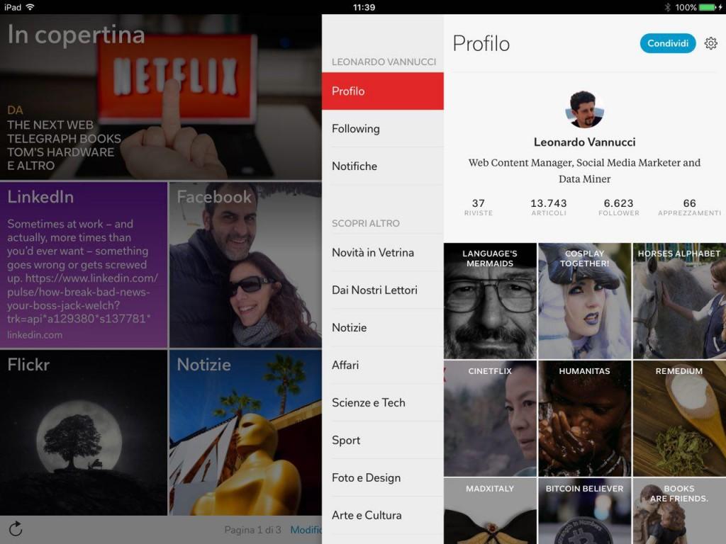 Leonardo Vannucci su Flipboard