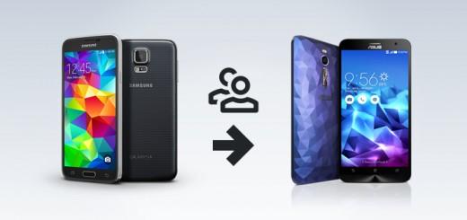 Come trasferire i contatti della rubrica da Samsung ad Asus