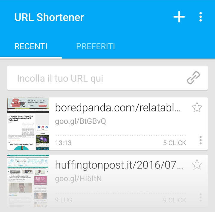 URL Shortener - Home