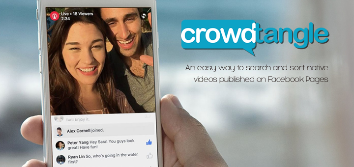 Crowdtangle - il motore di ricerca per video e dirette Facebook