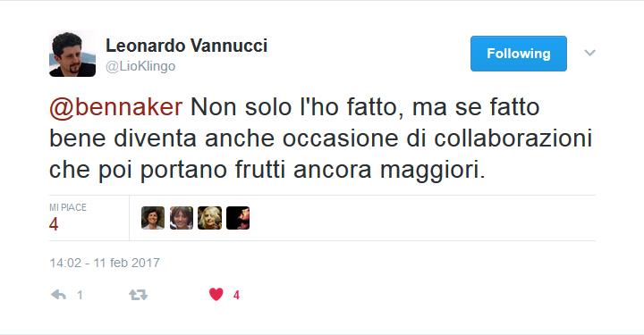 Twitter - Leonardo Vannucci