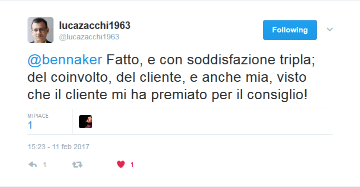 Twitter - Luca Zacchi