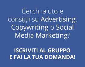 Iscriviti al Gruppo Facebook!