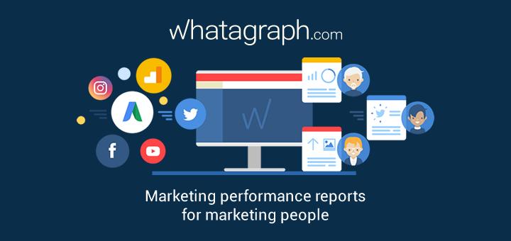 Whatagraph: il tool per Digital Marketer che trasforma i dati in infografica