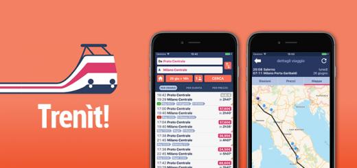 Trenìt - l'app su orari dei treni, prezzi dei biglietti, mappe, ritardi e scioperi