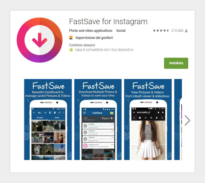 FastSave - GooglePlay