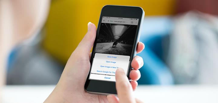 Come fare una ricerca inversa di immagini da smartphone