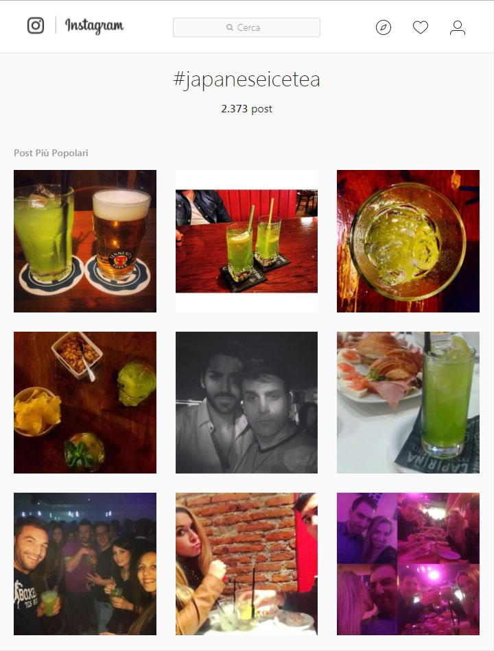 Instagram - Ricerca hashtag