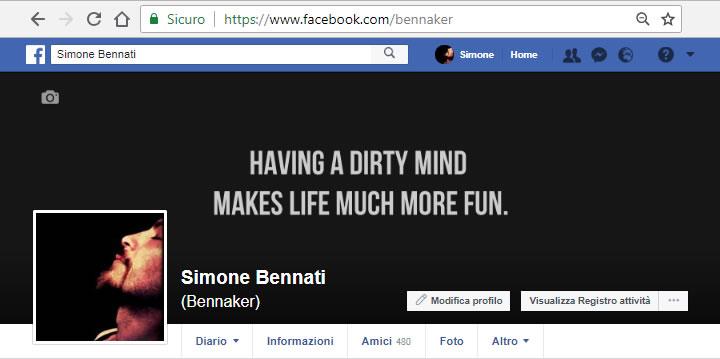 Benaker - Profilo Facebook