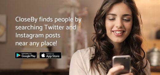 CloseBy: la app per scoprire chi usa Instagram e Twitter intorno a te